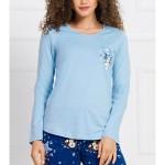 Dámské pyžamo dlouhé Méďa s hvězdou