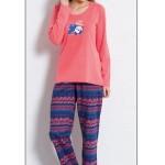 Dámské pyžamo dlouhé Panda – Vienetta