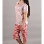 Dámské pyžamo kapri Šípky – Vienetta