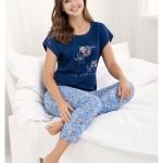 Dámské pyžamo Luna 484 kr/r 3XL