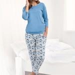Dámské pyžamo Luna 488 3/4 4XL