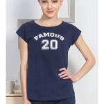 Dámské pyžamo šortky Famous