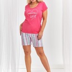 Dámské pyžamo Taro 2381 Kasia kr/r 2XL-3XL 'L20