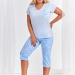 Dámské pyžamo Taro Donata 2187 kr/r 4XL-6XL 'L20