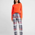 Dámské pyžamo UW0UW01941-039 vícebarevná – Tommy Hilfiger