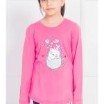 Dětské pyžamo dlouhé Cute cats