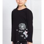 Dětské pyžamo dlouhé Myš s pampeliškou
