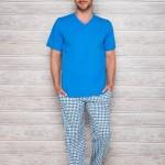 Pánské pyžamo Adam 2131 blue