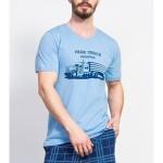 Pánské pyžamo kapri Kamion