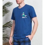 Pánské pyžamo kapri Rugby