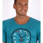 Pánské pyžamo šortky Kamasutra clock – Cotton shop