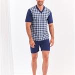 Pánské pyžamo Taro Roman 001 kr/r 2XL-3XL 'L20