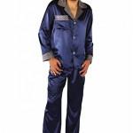 Saténové pánské pyžamo Satyna – De Lafense