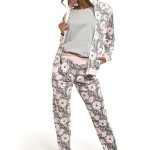 Trojdílné dámské pyžamo 355/216 Megan – Cornette