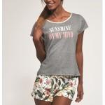 Dámské pyžamo Cornette 366/164 Sunshine kr/r