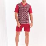 Krátké pánské pyžamo 002 ROMAN M-XL