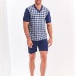 Krátké pánské pyžamo 294  ROMAN 4XL-6XL