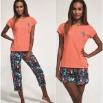 Trojdílné dámské pyžamo Cornette 665/173 Cactus