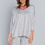 Dámské pyžamo Italian Fashion Oma r.3/4 kr.sp.