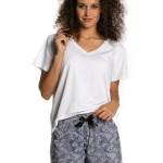 Dámské pyžamo Lama L-1358 PY kr/r S-XL