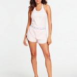 Dámské pyžamo O02X05J1311-G650 růžová – Guess