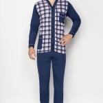 Pánské pyžamo Kuba Gentelmen Rozepínané, nestandardní velikost 8XL