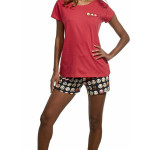 Dámské pyžamo 628/141 Emoticon – Cornette