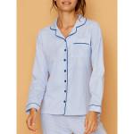 Dámské pyžamo FA7004PB modrobílá – Noidinotte
