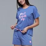 Dámské pyžamo (krátké rukávy/krátké kalhoty) 21437