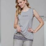 Dámské pyžamo (ramínka/šortky) 21463
