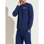 Pánské pyžamo FC2109PB tmavěmodrá – Noidinotte