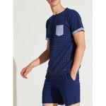 Pánské pyžamo FC2139PB tmavěmodrá – Noidinotte