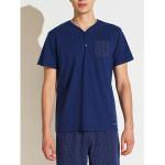 Pánské pyžamo FC2148PB tmavěmodrá – Noidinotte