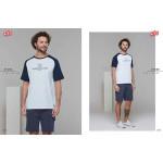Pánské pyžamo (krátké rukávy/krátké kalhoty) 21602