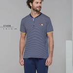 Pánské pyžamo (krátké rukávy/krátké kalhoty) 21608