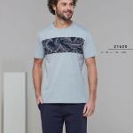 Pánské pyžamo (krátké rukávy/krátké kalhoty) 21620