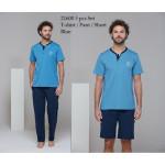 Pánské trojdílné pyžamo 21600