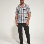 Rozepínané pánské pyžamo Cornette 318/38 kr/r 3XL-5XL