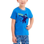 Chlapecké pyžamo Damian modré opice