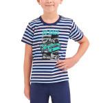 Chlapecké pyžamo Max modré proužky