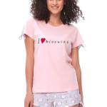 Dámské pyžamo Biscuits růžové