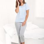 Dámské pyžamo Luna 482 kr/r 4XL
