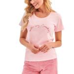Dámské pyžamo Nika růžové