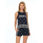 Dámské pyžamo YI2822407-019 černá – DKNY