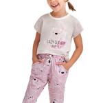 Dívčí pyžamo Beky béžové koala