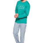 Pánské pyžamo Leo IX zelené