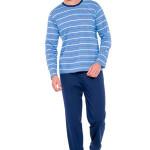 Pánské pyžamo Max IX modré pruhy