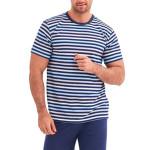 Pánské pyžamo Max modré proužky