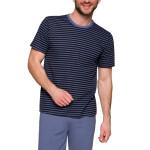 Pánské pyžamo Max modré s proužky