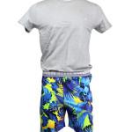 Pánské pyžamo U02X01JR018-0868 vícebarevná – Guess